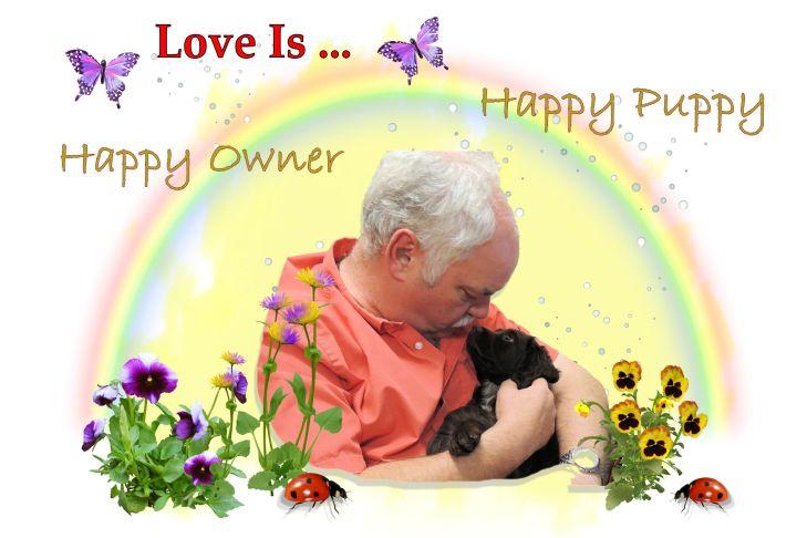 Happy Owner Happy Puppy